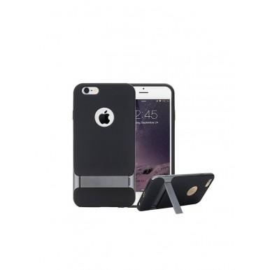 Антиударный серый чехол Rock Royce Series с подставкой для iPhone 7 и 8