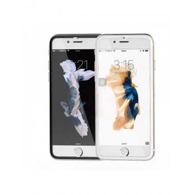 Защитное стекло Remax Ironwing series 3D round-cut для Iphone 6/6S белый