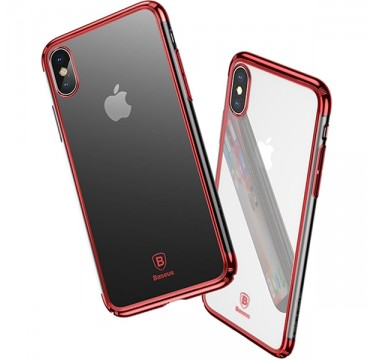 Чехол из поликарбоната Baseus Minju red для iPhone X
