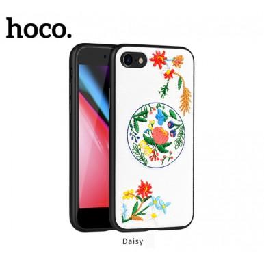 Чехол вышиванка Hoco summer flowers daisy для iPhone 7 и 8 Plus