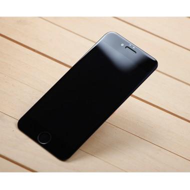 Защитное черное 4D стекло для iPhone 7/8