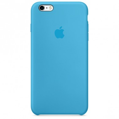 Blue Apple silicone case для iPhone 6/6s