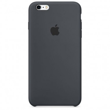 Charcoal Gray Apple silicone case для iPhone 6/6s