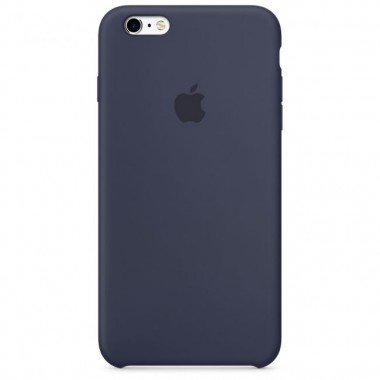 Midnight  Blue Apple silicone case для iPhone 6/6s