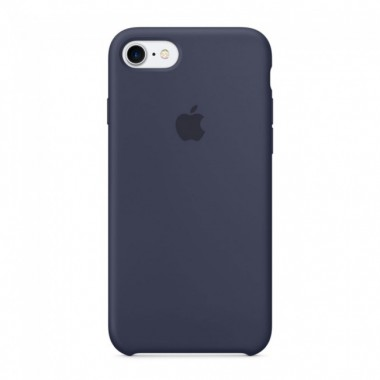 Midnight  Blue Apple silicone case для iPhone 7/8