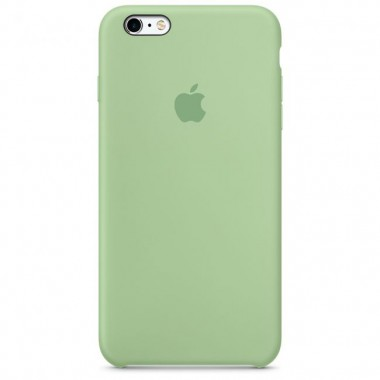 Mint Apple silicone case для iPhone 6/6s
