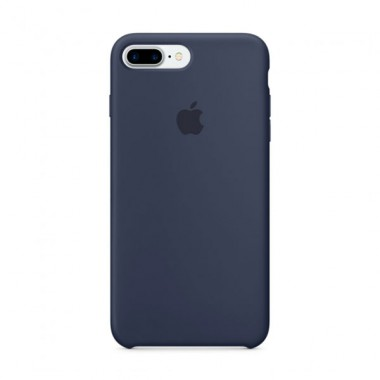 Midnight  Blue Apple silicone case для iPhone 7plus/8plus