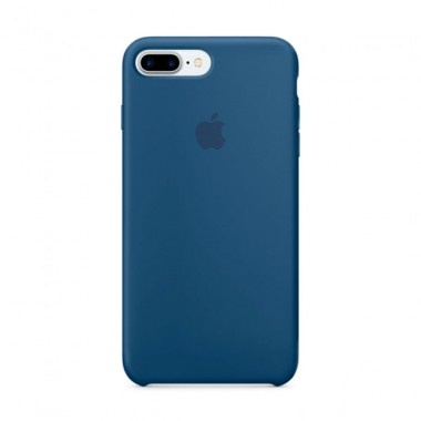 Ocean Blue Apple silicone case для iPhone 7plus/8plus