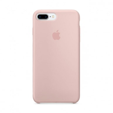 Pink Sand Apple silicone case для iPhone 7plus/8plus