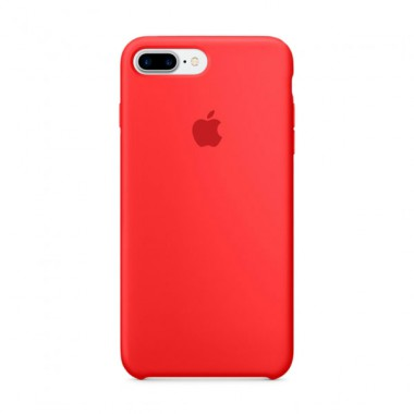 Red Apple silicone case для iPhone 7plus/8plus