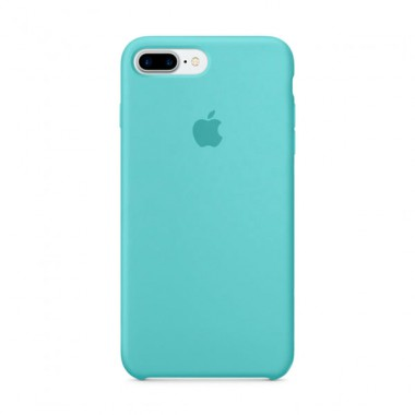 Sea BlueApple silicone case для iPhone 7plus/8plus