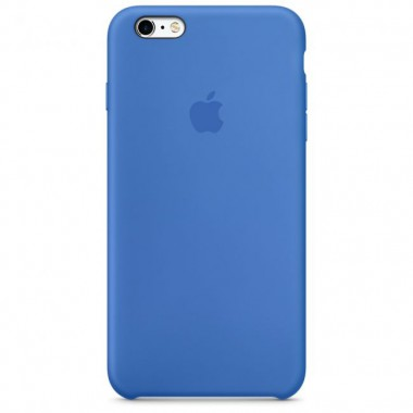 Royal Blue Apple silicone case для iPhone 6/6s