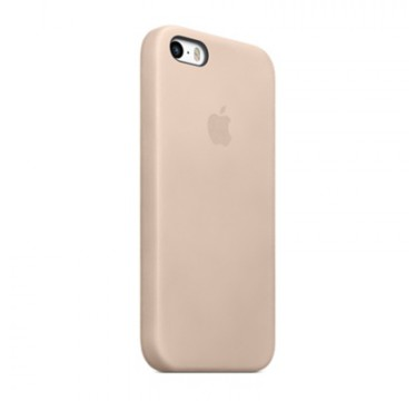 Beige Apple silicone case для iPhone 5/5s/5se