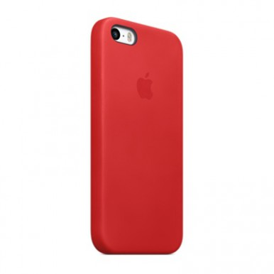 Red Apple silicone case для iPhone 5/5s/5se