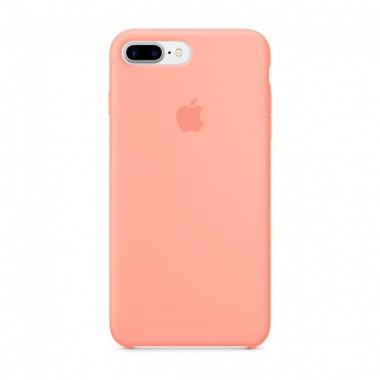Light Pink Apple silicone case для iPhone 7plus/8plus