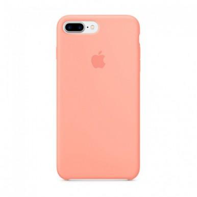 Light Pink Apple silicone case для iPhone 7plus/8plus