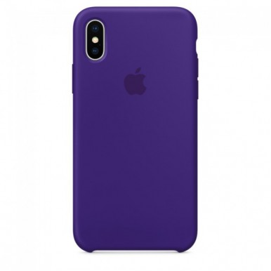 Ultra Violet Apple silicone case для iPhone X