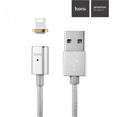 Lightning USB кабель Hoco magnetic adsorption