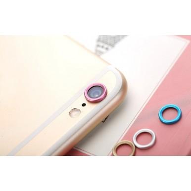 Розовая защита камеры для iPhone 6+/6s+
