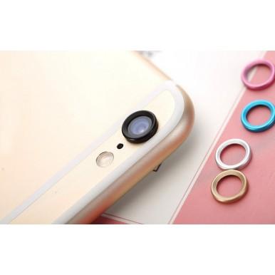 Защита камеры Black для iPhone 6+/6S+