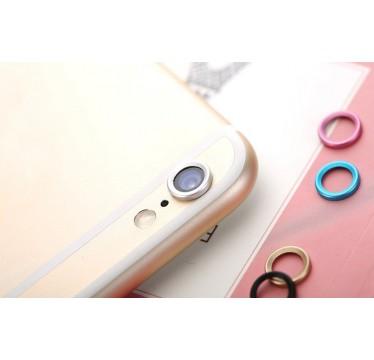 Серебряная защита камеры для iPhone 6+/6s+