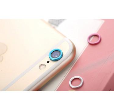 Синяя защита камеры для iPhone 6+/6s+