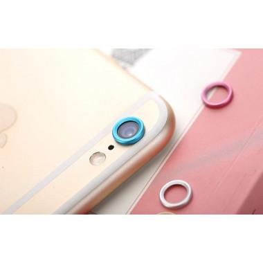 Синяя защита камеры для iPhone 6/6s