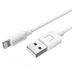 Lightning USB кабель U Turn Series белый