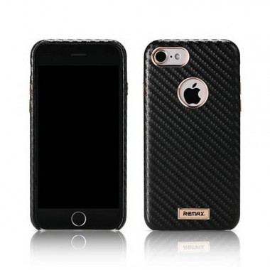 Чехол Remax Carbon black для iPhone 7