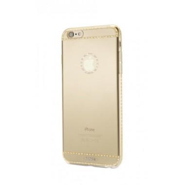 Силиконовый чехол Remax Sunshine Gold для iPhone 7