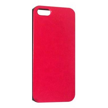 Силиконовый розовый чехол под кожу для iPhone 5/5s/SE