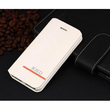 Белая книжка-чехол для iPhone 5c