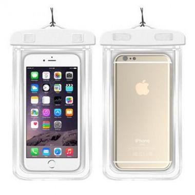 Водонепроницаемый белый чехол для iPhone