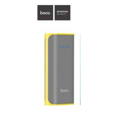 "Power bank ""Hoco"" B21 Tiny Concave pattern 5200mAh"