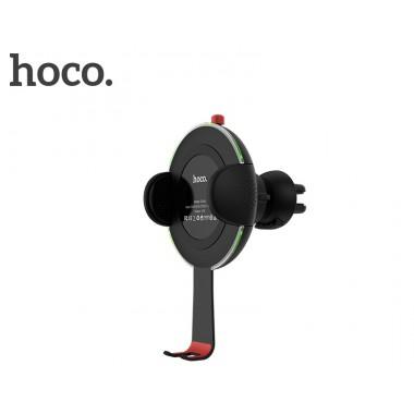 Автомобильный держатель+беспроводное зарядное устройство Hoco Noble Car wireless