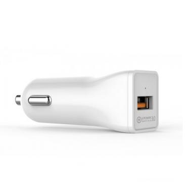 Автомобильное зарядное устройство Golf Quick Charge 3.0 1USB 3А