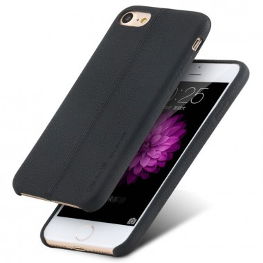 Кожаный черный чехол Usams Joe для iPhone 7