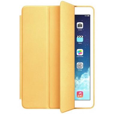 Кожаный золотой чехол Smart case  для iPad mini 4