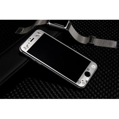 """Защитное переднее стекло """"Бабочки"""" для iPhone 6+/6s+"""