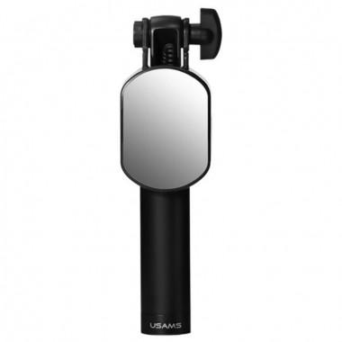 Монопод с зеркалом для селфи USAMS черный