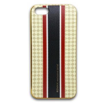 Силиконовый чехол Remax с черной полосой для iPhone 5/5s/SE