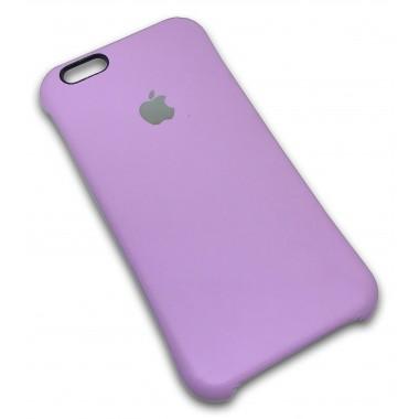 Кожаная розовая накладка Apple для iPhone 6/6s