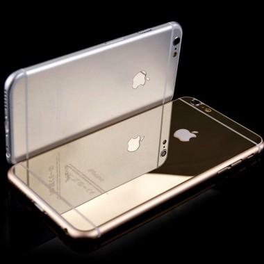 Заднее золотое защитное стекло для iPhone 7 Plus